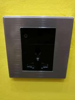 86 Universal Switch Socket Panel