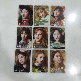 Twice Shining Photocard Set
