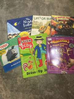 activities and stickers books