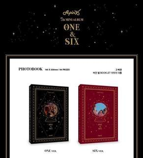 APINK 7th Mini Album ONE SIX (One Ver / Six Ver)