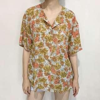 Orange Rosy Shirt