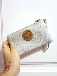 White mulberry pouch with strap #OCT10
