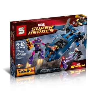 SY™ 308 Heroes Assemble X-Men Vs Sentinel