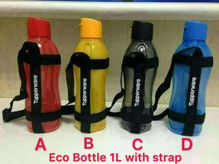 Tupperware Eco bottle with strap 1L(1)