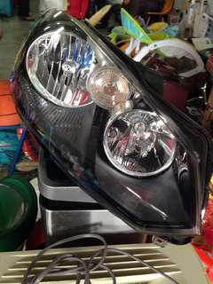 VW Golf GTI Mk6 halogen headlight UK Spec