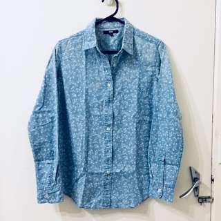 Uniqlo Denim Button Up Shirt