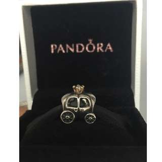 Pandora 2-tone charm