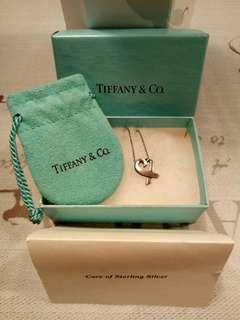 🚚 TIFFANY & Co. Loving Heart 925純銀項鍊(迷你)