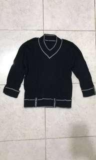 [preloved] black sweater