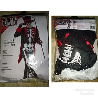skeleton costume from US