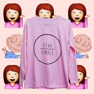Stay Simple Longsleeve Tee