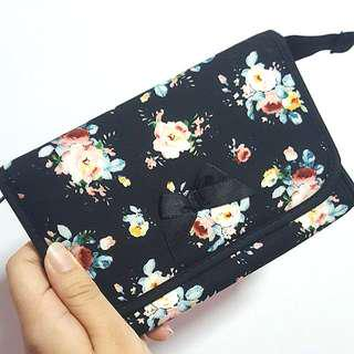 NaRaYa floral pouch (with mirror) #OCT10