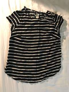 H&M Maternity Striped Top