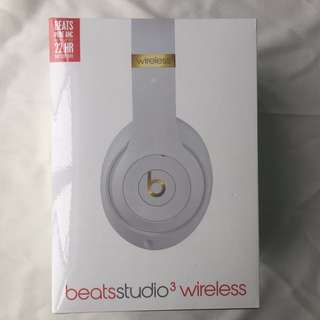 Beats Studio 3 Wireless 全新未拆封 頭戴式耳機 白色 另有炭灰色/魅影灰
