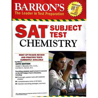 Barron's SAT Chemistry Subject Test