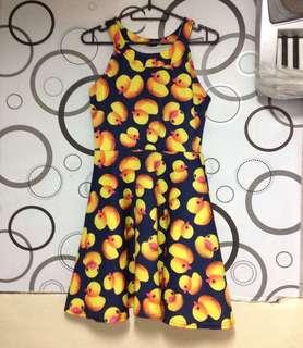 Duck Halter Dress