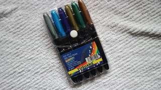 Metallic Marker in 6 colors