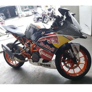 KTM RC390 ABS for SALE. SUPER LOW MILEAGE, Top Engine Reworked!.