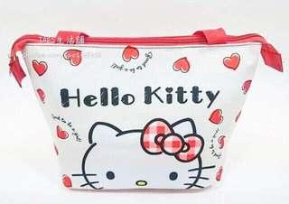 🚚 正版授權 三麗鷗 HELLO KITTY 凱蒂貓 保溫保冷袋 手提袋 便當袋 環保袋