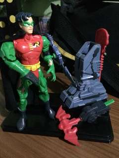 DC Comics 1998 Batman and Robin Action Figures