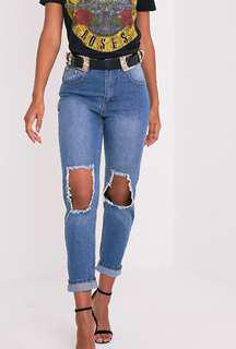 PLT Mom Fit Jeans