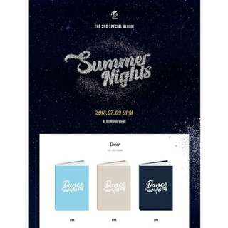 [PREORDER] TWICE - Summer Nights (2nd Special Album)