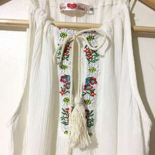 Never Been Kissed Boho Top