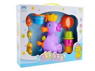 Seahorse Bath Time Turning Water Wheel Toy