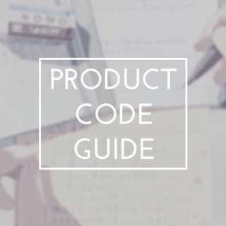 💫 product code guide