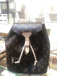 全新Louis Vuitton Montsouris Backpack