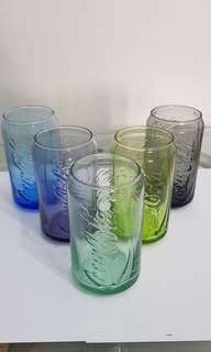 Coca cola drinking glass