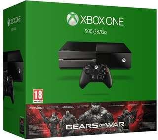 Xbox One 500GB w 2 controller