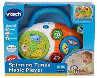 🚚 (Pre-Order)  VTech Spinning Tunes Music Player,Multicolor