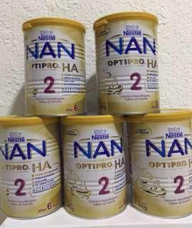 NESTLE NAN OPTIPRO HA 2 (400g) x 10