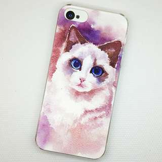 Apple iphone 6s 、iphone 6s plus 貓美人 3D立體卡通浮雕 彩繪手機殼 特價$50