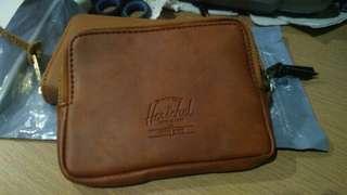 Genuine Leather Herschel Zipper Wallet