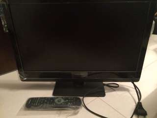 Philips 19 inch LED monitor/TV
