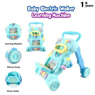 Baby walker stand trolley