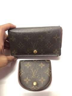 COMBO SALE!!!! LV wallet & LV Coin Case!!