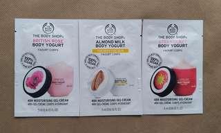 """""""包郵"""" Body shop body yogurt 身體保濕乳酪"""