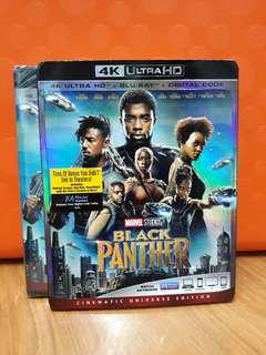 USA Blu Ray 4K UHD - Black Panther 4K (ATMOS)