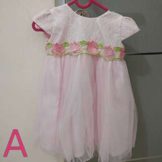 Preloved dress bayi batita