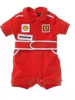 Baby jumpsuit (car racing design)