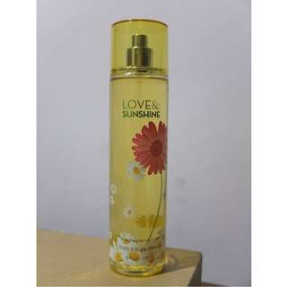 59% OFF Bath & Body Works LOVE AND SUNSHINE Fine Fragrance Mist 236mL