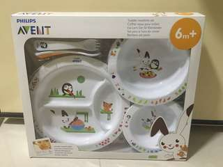 Philips Avent Toddler Mealtime Set