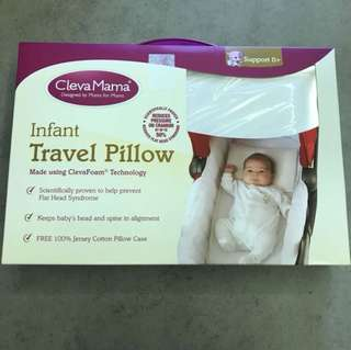 Brand New ClevaMama Infant Travel Pillow