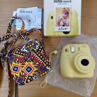 INSTAX MINI 8 YELLOW