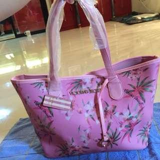 🌸BRANDNEW🌸 Victoria Secret Pink Floral Tote Bag