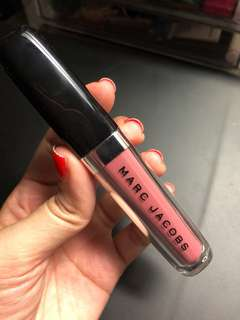 Swatched 1x Authentic Marc Jacobs Enamored Hydrating Lip Gloss Stick Mocha Choco-lata