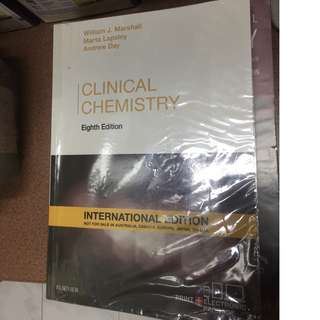 Clinical chemistry 8th edition - William J Marshall